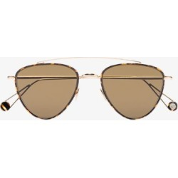 Ahlem Mens Brown 22k Yellow Gold-plated Place De Pyramides Sunglasses found on Bargain Bro UK from Browns Fashion