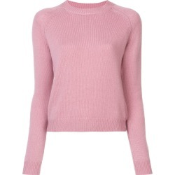 Alexandra Golovanoff crew neck knitted sweater - Pink found on MODAPINS from FARFETCH.COM Australia for USD $783.23