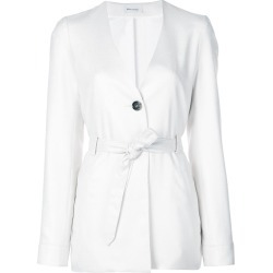 Beau Souci belted jacket - White found on MODAPINS from FarFetch.com- UK for USD $1568.54