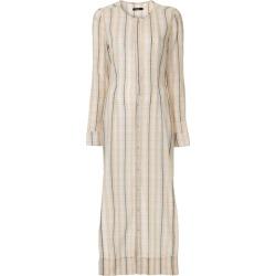 Bassike check gauze shirt dress - Neutrals found on MODAPINS from FarFetch.com - US for USD $650.00