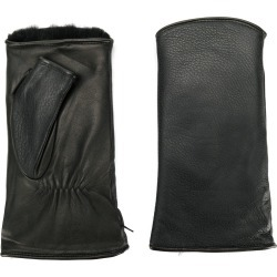 Agnelle fingerless gloves - Black found on MODAPINS from FarFetch.com- UK for USD $137.92