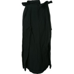 Aganovich long pleated skirt - Black found on MODAPINS from FarFetch.com - US for USD $1180.00