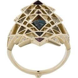 Noor Fares Nila ring - Metallic found on Bargain Bro India from FarFetch.com - US for $4785.00