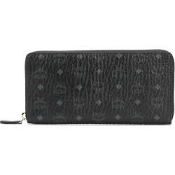 MCM logo print zip around wallet - Black found on Bargain Bro UK from FarFetch.com- UK