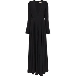 Alexandre Vauthier extreme padded shoulder gown - Black found on MODAPINS from FarFetch.com- UK for USD $2438.73
