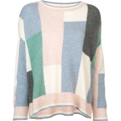 Adam Lippes colour-block flared sweater - Multicolour found on MODAPINS from FarFetch.com - US for USD $750.00