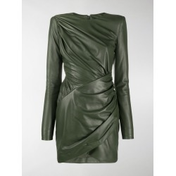 Alexandre Vauthier ruched leather dress found on Bargain Bro UK from MODES GLOBAL