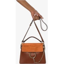 Chloé Womens Brown Faye Mini Leather Cross Body Bag found on Bargain Bro UK from Browns Fashion