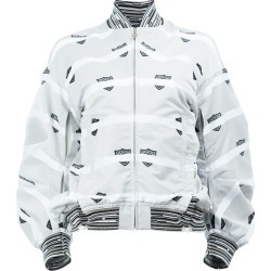 Anrealage printed bomber jacket - Grey found on MODAPINS from FarFetch.com- UK for USD $735.27