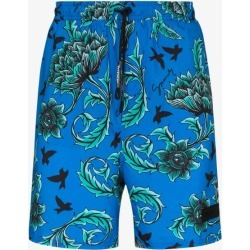 Givenchy Mens Blue Floral Print Swim Shorts found on Bargain Bro UK from Browns Fashion