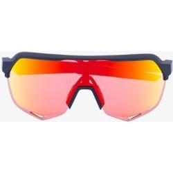 100% Eyewear Black Orange S2 gradient lens sunglasses found on Bargain Bro UK from Browns Fashion