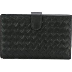 Bottega Veneta interlaced leather bi-fold wallet - Black found on Bargain Bro UK from FarFetch.com- UK