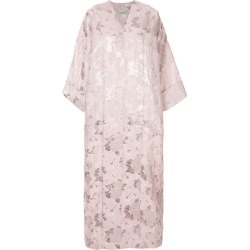 Bambah Petunia floral kaftan dress - Pink found on MODAPINS from FarFetch.com - US for USD $500.00