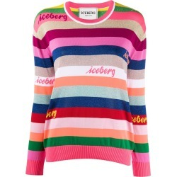 Iceberg logo embroidered striped jumper found on Bargain Bro UK from Eraldo