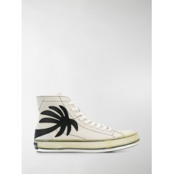 Palm Angels palm tree high-top sneakers found on Bargain Bro UK from MODES GLOBAL