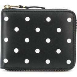 Comme Des Garçons Wallet polka dot printed wallet - Black found on MODAPINS from FARFETCH.COM Australia for USD $172.27