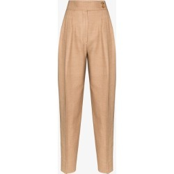Burberry Womens Brown Marleigh Straight Leg Trousers found on Bargain Bro UK from Browns Fashion