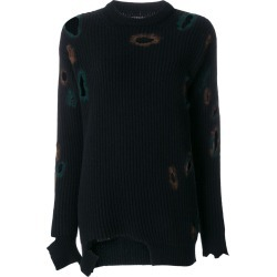 Ballantyne distressed holey sweater - Blue found on MODAPINS from FarFetch.com - US for USD $928.00