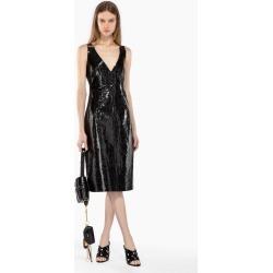 Nº21 Snake-Effect Leather Dress