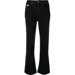 Alexa Chung high-waisted flared jeans - Black found on MODAPINS from FarFetch.com - US for USD $214.00