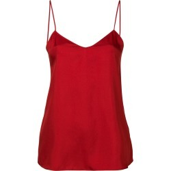 Tibi Mendini twill cami - Red found on Bargain Bro India from FarFetch.com - US for $299.00