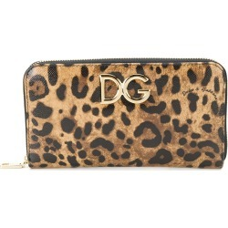Dolce & Gabbana Continental logo plaque wallet - Brown found on Bargain Bro Philippines from FarFetch.com - US for $695.00