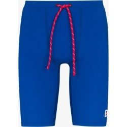 District Vision Mens Blue Tomtom Drawstring Compression Shorts found on MODAPINS from Browns Fashion for USD $101.96