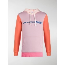 Comme Des Garçons Shirt colour-block cotton hoodie found on MODAPINS from MODES GLOBAL for USD $296.01