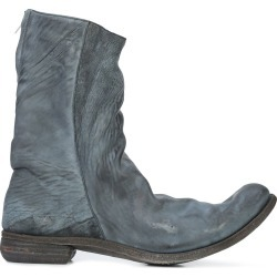 A Diciannoveventitre relaxed distressed boots - Grey found on MODAPINS from FarFetch.com - US for USD $2365.00