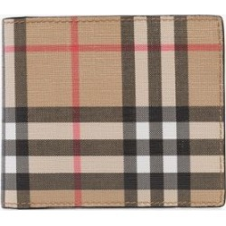Burberry Mens Brown Beige Sandon Vintage Check Coin Purse found on Bargain Bro UK from Browns Fashion