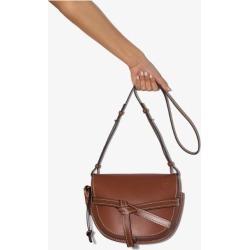 Loewe Womens Brown Loew Gate Sml Bag found on Bargain Bro UK from Browns Fashion