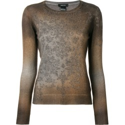 Avant Toi stud knit sweater - Brown found on MODAPINS from FARFETCH.COM Australia for USD $555.65