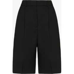 Acne Studios Womens Black Tailored Knee-length Shorts found on Bargain Bro UK from Browns Fashion