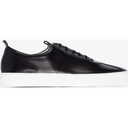Grenson Mens Black Sneaker 1 Leather Sneakers found on MODAPINS from Browns Fashion for USD $254.38