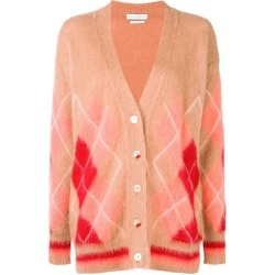 Ballantyne diamond pattern cardigan - Brown found on MODAPINS from FarFetch.com- UK for USD $474.84