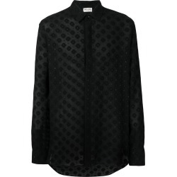 Saint Laurent printed casual shirt - Black found on MODAPINS from FarFetch.com- UK for USD $1080.11