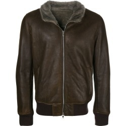 Barba bomber jacket - Brown found on MODAPINS from FARFETCH.COM Australia for USD $1373.11