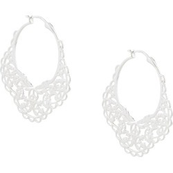 Karen Walker filigree hoops - Silver found on Bargain Bro UK from FarFetch.com- UK