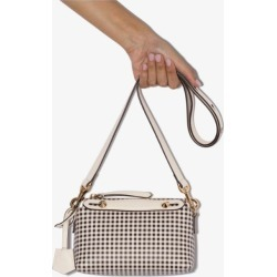 Fendi Womens White By The Way Mini Leather Cross Body Bag found on Bargain Bro UK from Browns Fashion