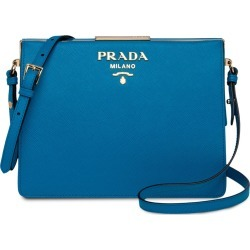 Prada Prada Light Frame Leather Bag - Blue found on MODAPINS from FarFetch.com- UK for USD $1836.20