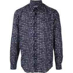 Vilebrequin graphic print shirt - Blue found on Bargain Bro UK from FarFetch.com- UK