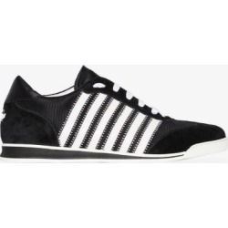 Dsquared2 Mens Black Tennis Striped Sneakers found on MODAPINS from Browns Fashion for USD $456.59