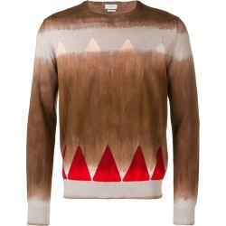 Ballantyne spray diamond jumper - Brown found on MODAPINS from FarFetch.com- UK for USD $661.94