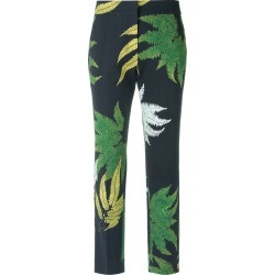 Andrea Marques printed skinny trousers - Blue found on MODAPINS from FarFetch.com- UK for USD $219.83