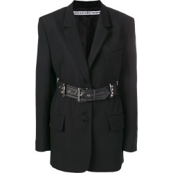 Alexander Wang belted blazer - Black found on MODAPINS from FarFetch.com - US for USD $1006.00