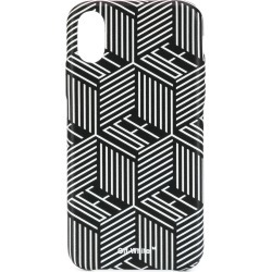 Off-White graphic logo printed iPhone X case - Black