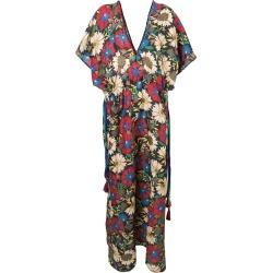Anjuna floral kaftan dress - Blue found on MODAPINS from FARFETCH.COM Australia for USD $597.94