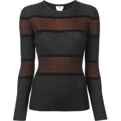 Akris Punto ribbed striped jumper - Green found on MODAPINS from FarFetch.com - US for USD $595.00