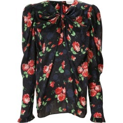 Magda Butrym Caserta floral print blouse - Blue found on Bargain Bro Philippines from FARFETCH.COM Australia for $753.17