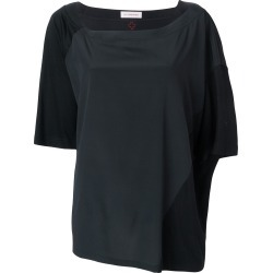 A.F.Vandevorst oversized colour block T-shirt - Black found on MODAPINS from FarFetch.com- UK for USD $261.67